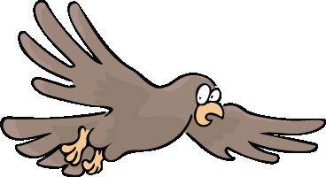 School Mascot Hawk